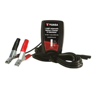 YUASA Automatic 1 AMP Battery Charger