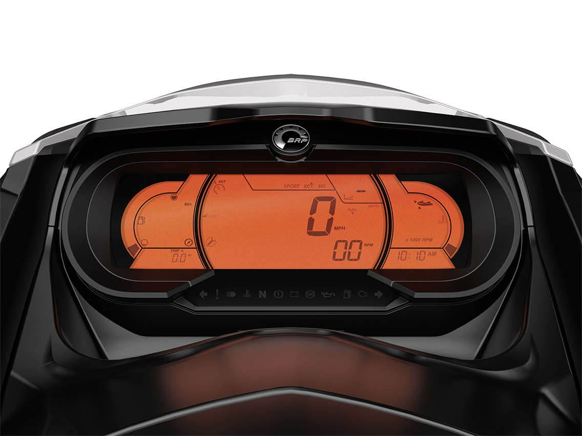 Sea-Doo digital display