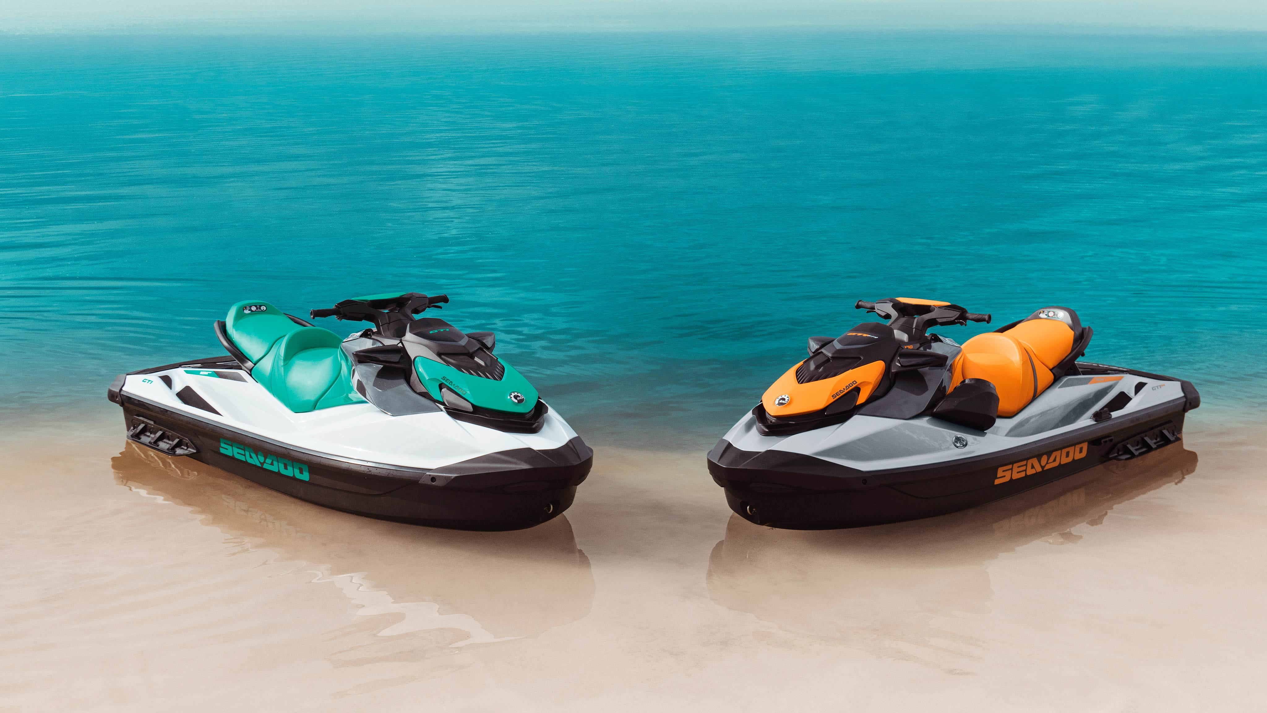 Beauty Shot of a Sea-Doo GTI on the water