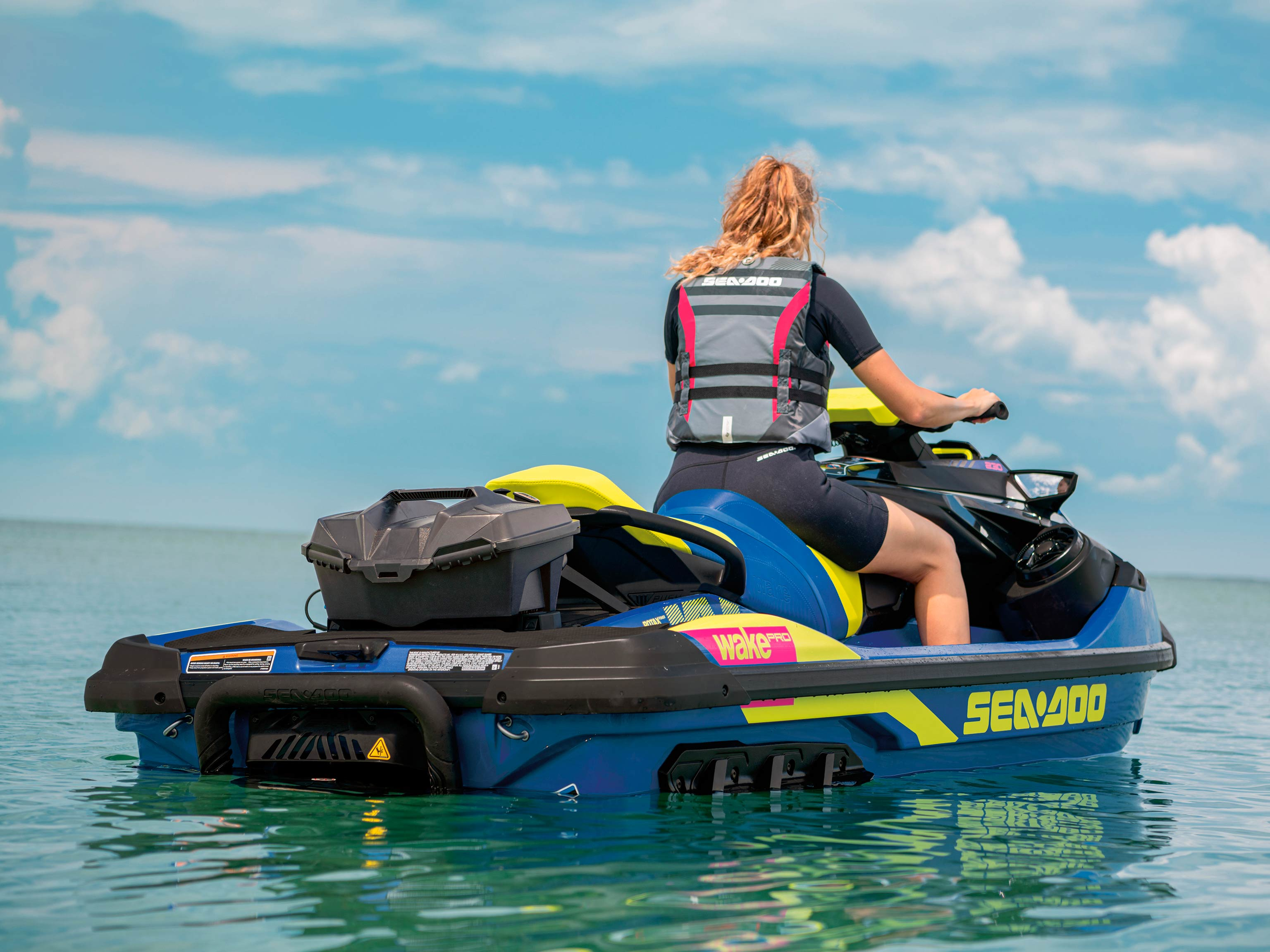 LinQ Box on a Sea-Doo WAKE PRO