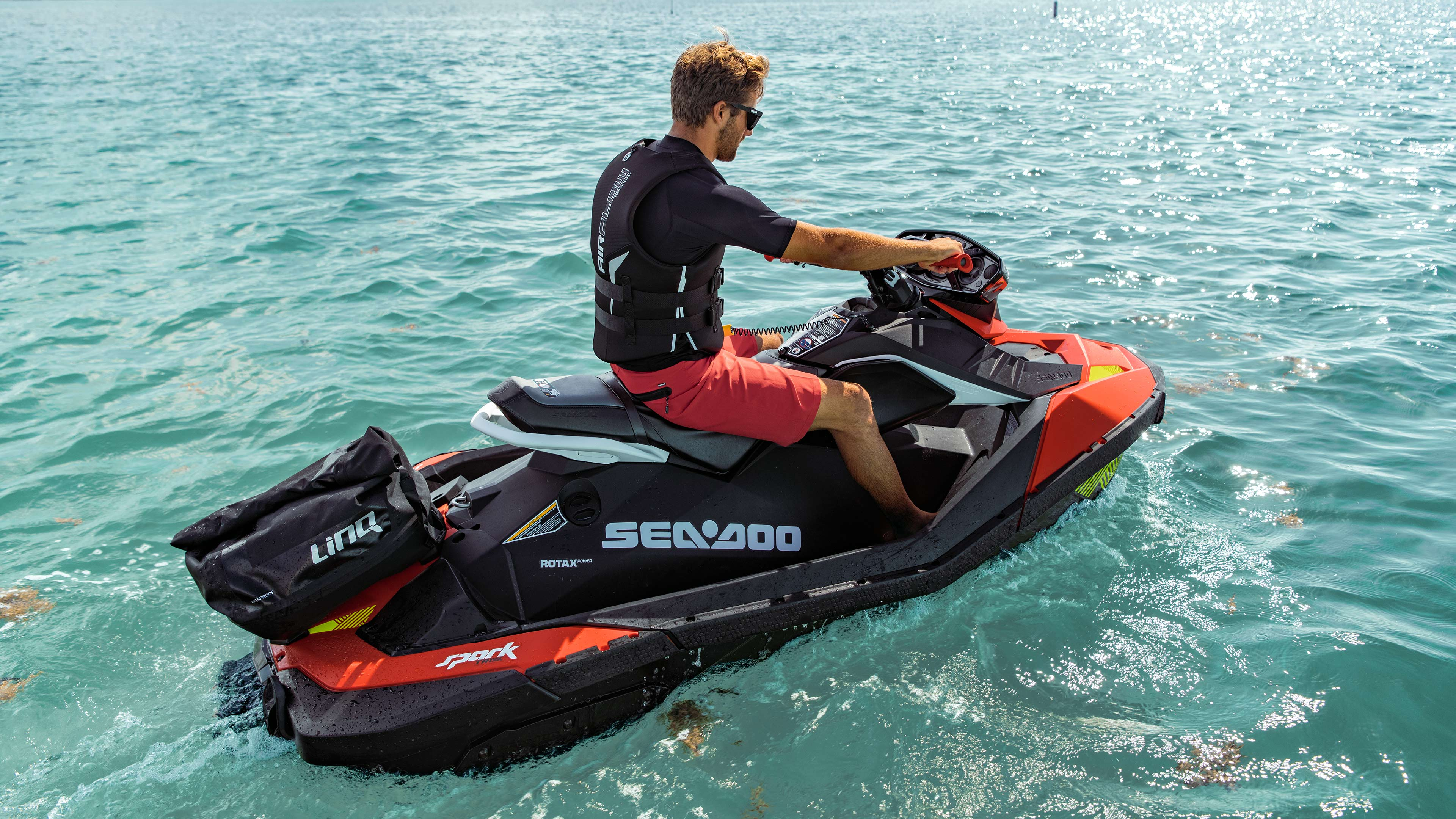 New accessories on a Sea-Doo Spark - Rec-Lite