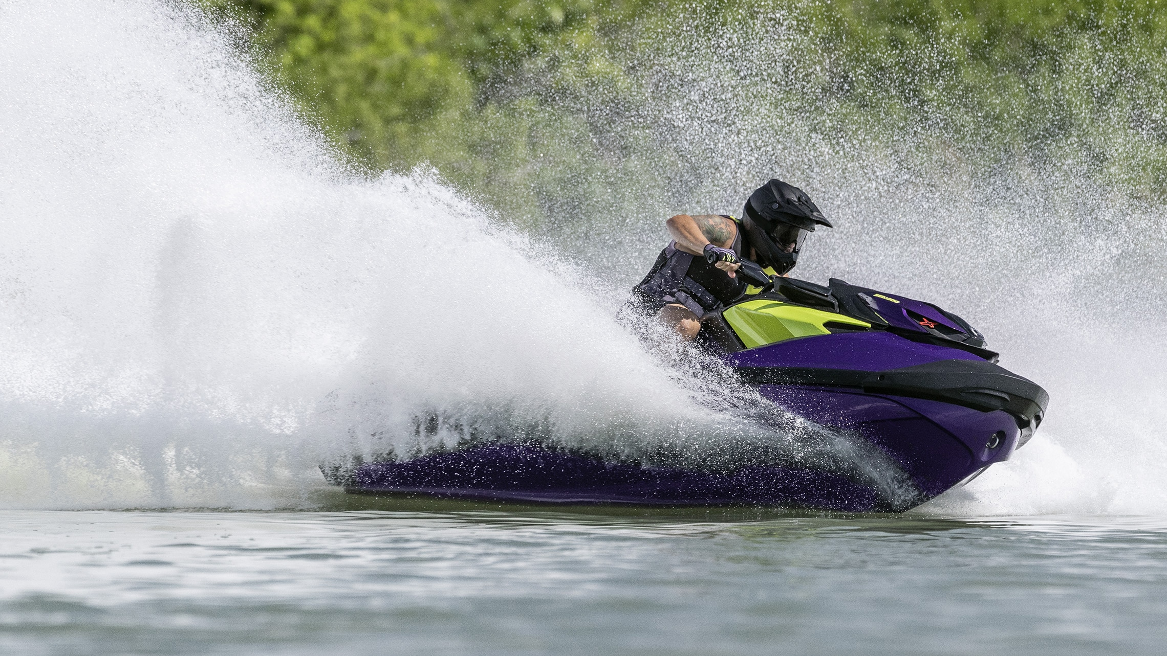 Sea-Doo RXP-X New T3-R hull feature