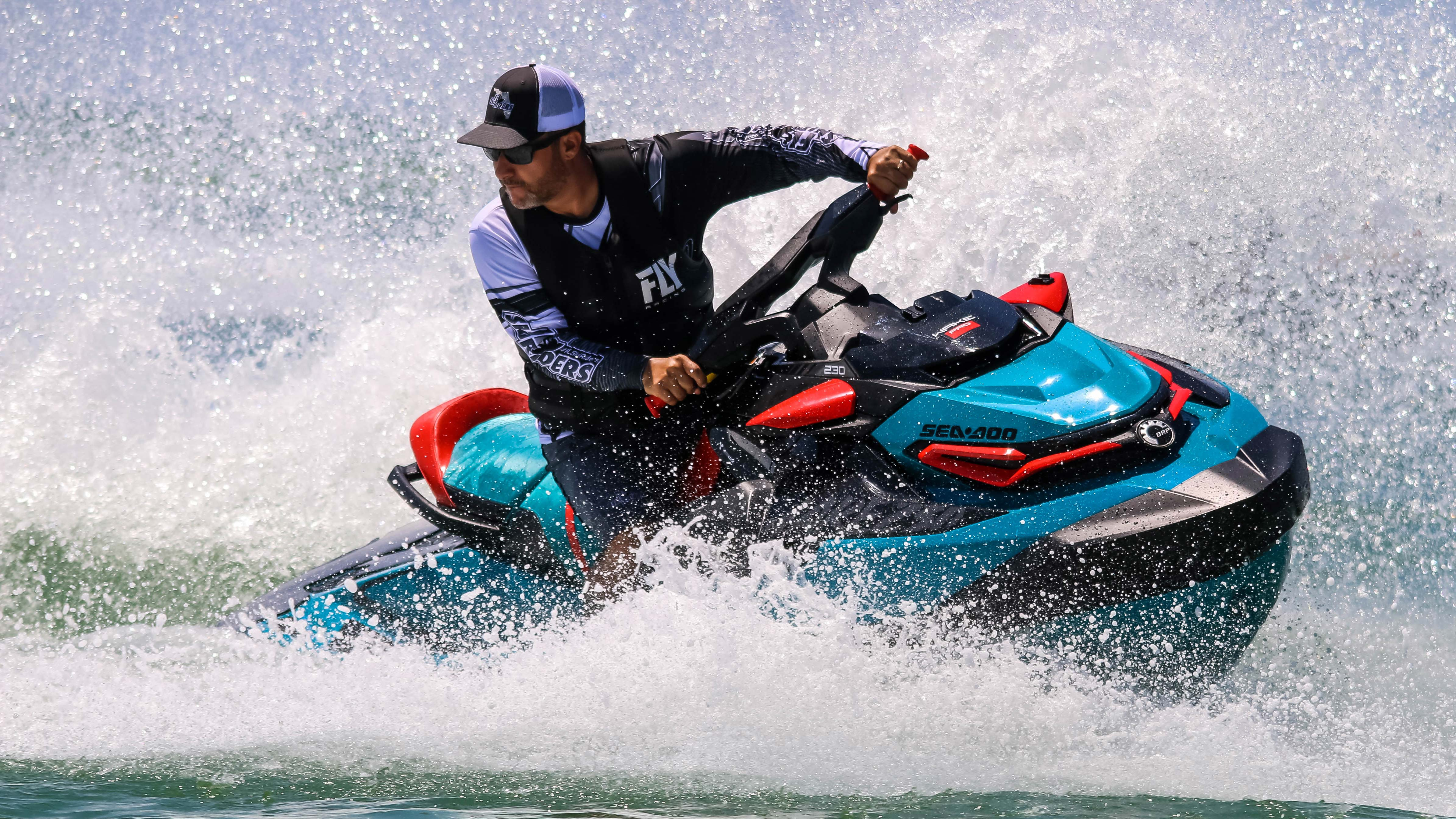 Randy Cabrera enjoying a Sea-Doo ride