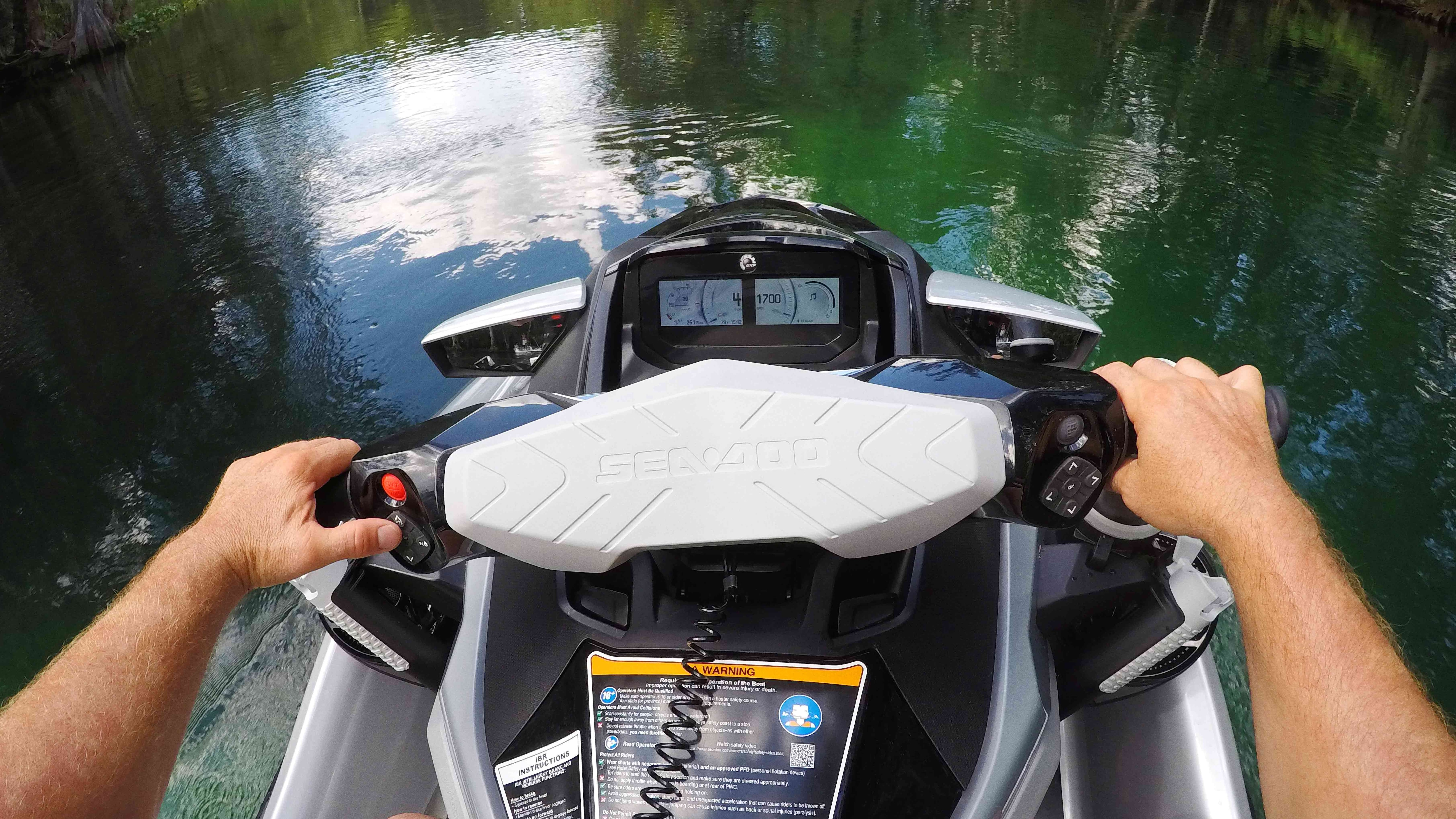 LCD Display technology on a Sea-Doo
