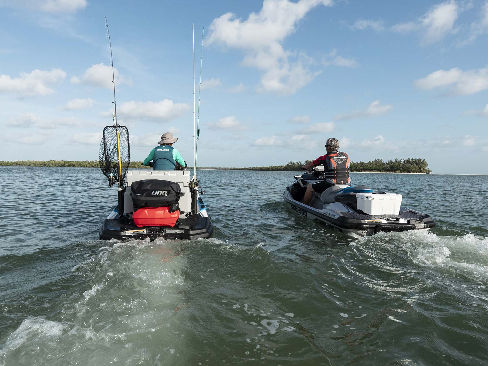 Sea-Doo LinQ extension