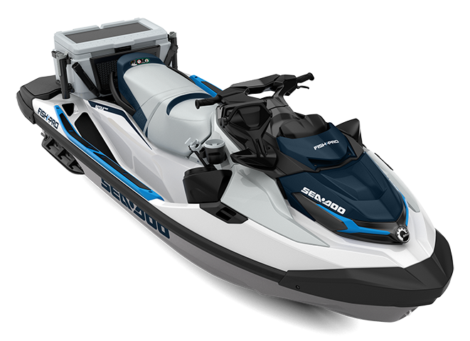 Sea-Doo Fish Pro 170 with sound system