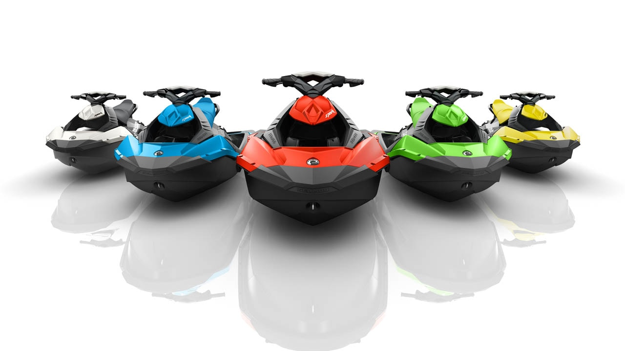 The 2016 Sea-Doo SPARK lineup offered a new color range. By 2016, SPARK's  explosive growth driven by consumer demand for a fun and affordable personal  ...