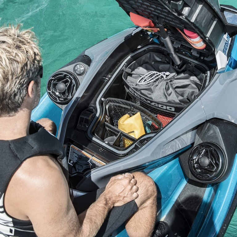 Sea-Doo GTX models   Style & Comfort   Sea-Doo Watercraft