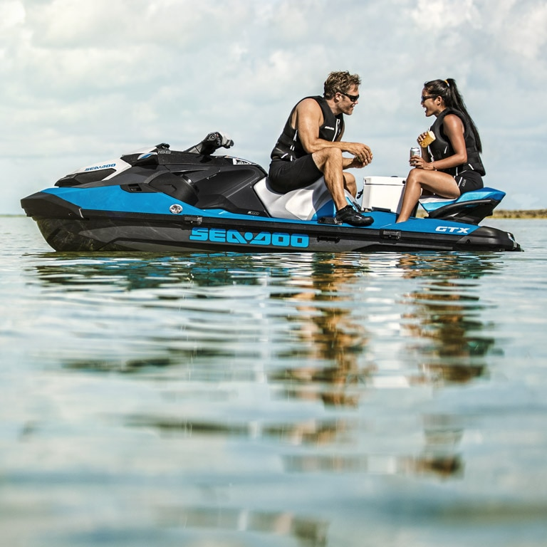 Sea-Doo GTX models | Style & Comfort | Sea-Doo Watercraft