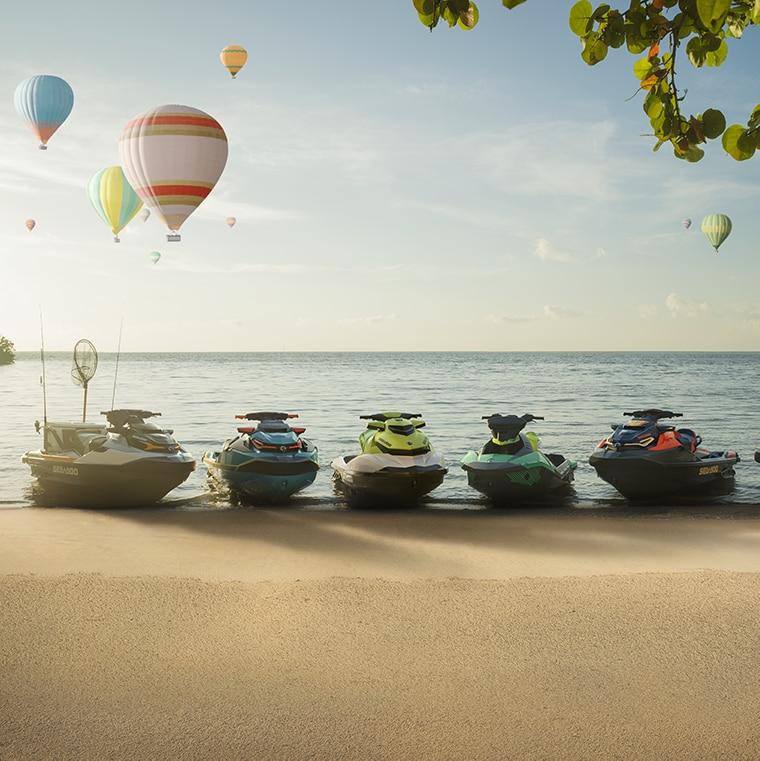 Sea-Doo 2019 Personal Watercraft | Sea-Doo SPARK, FISH PRO